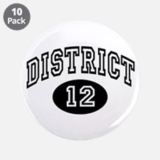 """Hunger Games District 12 3.5"""" Button (10 pack)"""