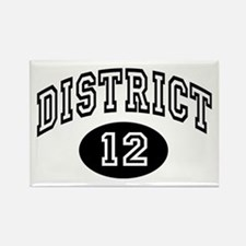 Hunger Games District 12 Rectangle Magnet