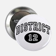 """Hunger Games District 12 2.25"""" Button (10 pack)"""