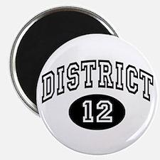Hunger Games District 12 Magnet