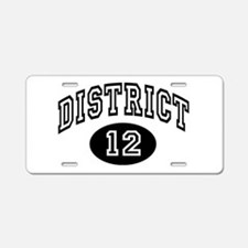 Hunger Games District 12 Aluminum License Plate