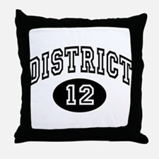 Hunger Games District 12 Throw Pillow