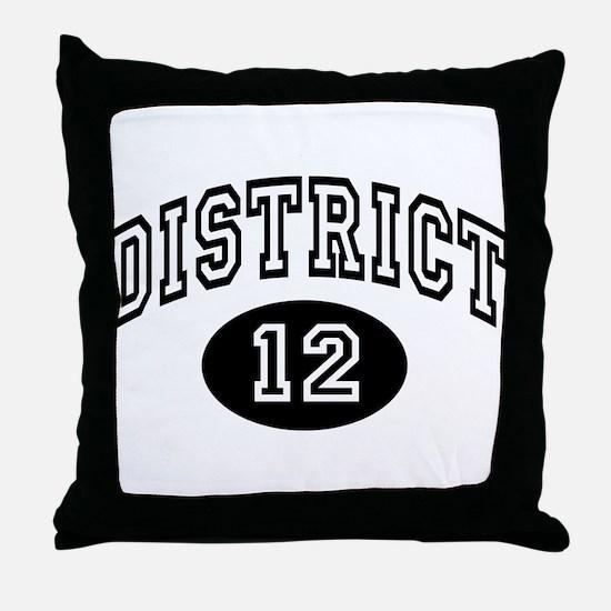Hunger Games District 12 Throw Pillow