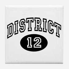 Hunger Games District 12 Tile Coaster