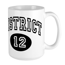 Hunger Games District 12 Large Mug