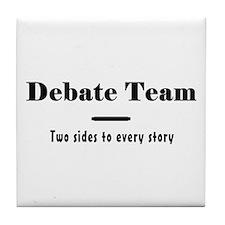 Debate Team Tile Coaster