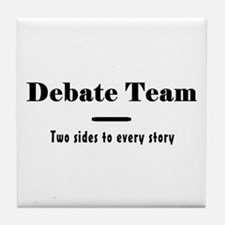 Debate Team Tile Coaster