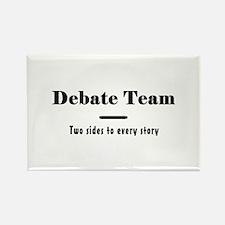 Debate Team Rectangle Magnet (10 pack)