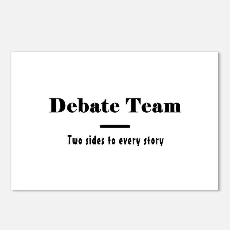 Debate Team Postcards (Package of 8)