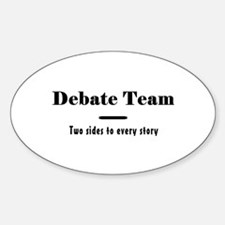 Debate Team Decal