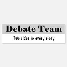 Debate Team Sticker (Bumper)
