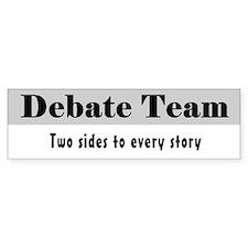 Debate Team Bumper Bumper Sticker