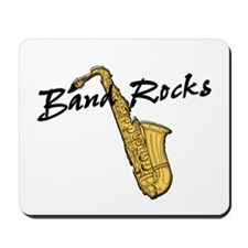 Band Rocks w/Sax Mousepad
