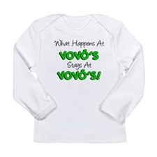 What Happens At Vovos Long Sleeve Infant T-Shirt