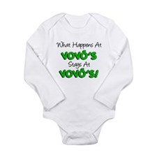 What Happens At Vovos Long Sleeve Infant Bodysuit