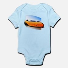 Velomobile Bike Infant Bodysuit