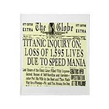 The Globe Throw Blanket