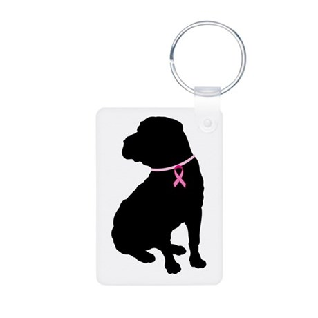 Shar Pei Breast Cancer Support Aluminum Photo Keyc