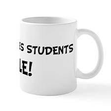 WOMEN STUDIES STUDENTS Rule! Mug