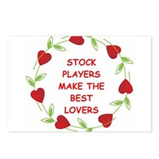 stocks Postcards (Package of 8)