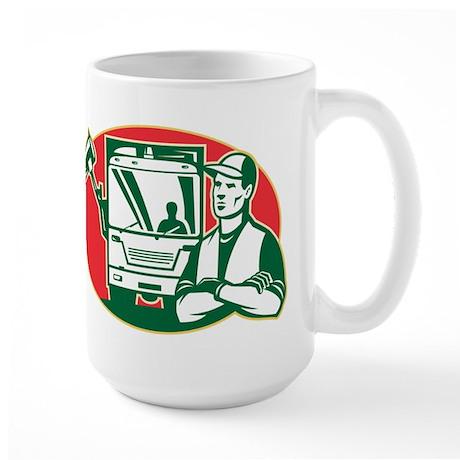 Garbage Collector Large Mug