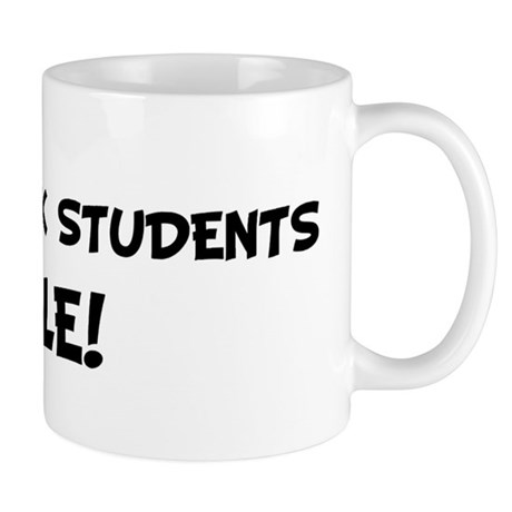 SOCIAL WORK STUDENTS Rule! Mug
