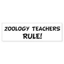 ZOOLOGY TEACHERS Rule! Bumper Bumper Sticker