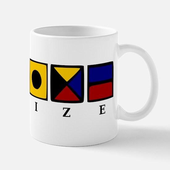 Nautical Belize Mug