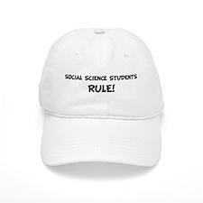 SOCIAL SCIENCE STUDENTS Rule! Baseball Cap