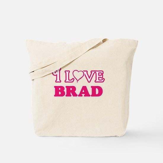 I Love Brad Tote Bag