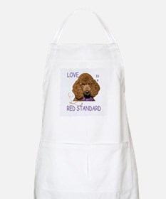 Love is a Red Standard Apron
