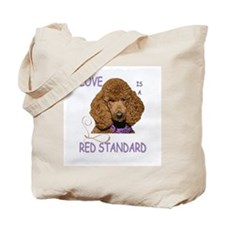 Love is a Red Standard Tote Bag