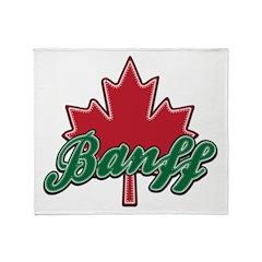 Banff Maple Leaf Throw Blanket