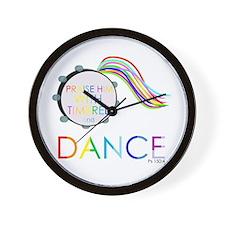 Unique Dancer Wall Clock