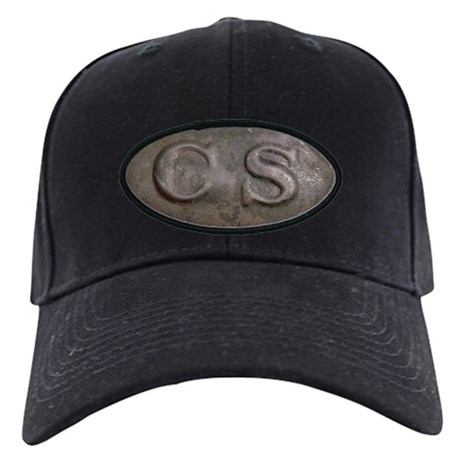 CS Oval Black Cap