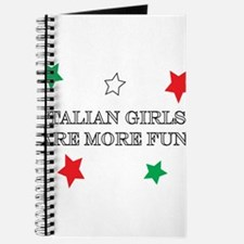 Italian Girls are More FUN Journal