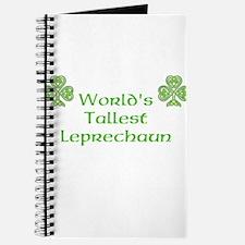 World's Tallest Leprechaun Journal