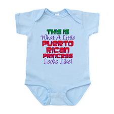 Puerto Rican Princess Infant Bodysuit