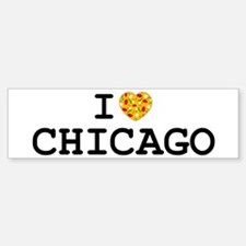 I Heart Chicago Bumper Bumper Bumper Sticker