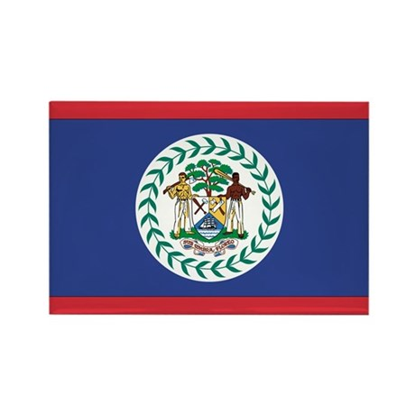 Belize Rectangle Magnet