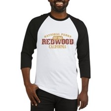 Redwood National Park CA Baseball Jersey