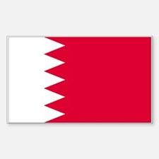 Bahrain Rectangle Decal