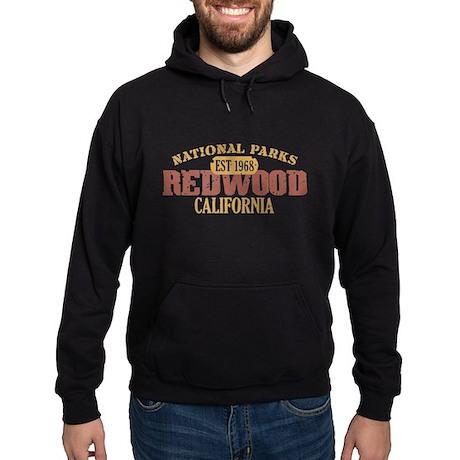 Redwood National Park CA Hoodie (dark)