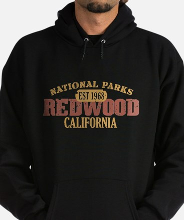 Redwood National Park CA Hoodie (dark)