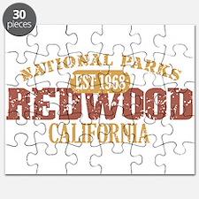 Redwood National Park CA Puzzle