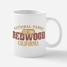 Redwood National Park CA Mug