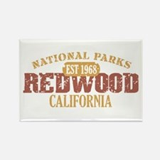 Redwood National Park CA Rectangle Magnet (10 pack