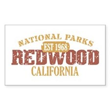 Redwood National Park CA Decal