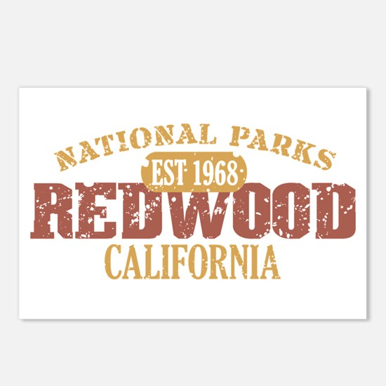 Redwood National Park CA Postcards (Package of 8)