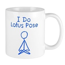 Blue Lotus Pose Mug